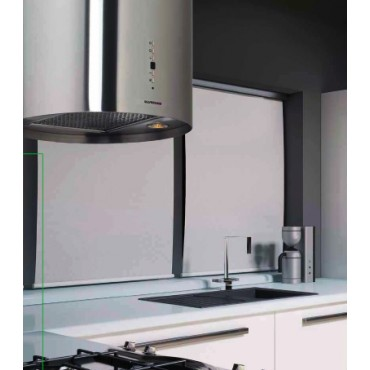 Hotte murale silverline nix 40cm inox for Hotte aspirante 40 cm largeur