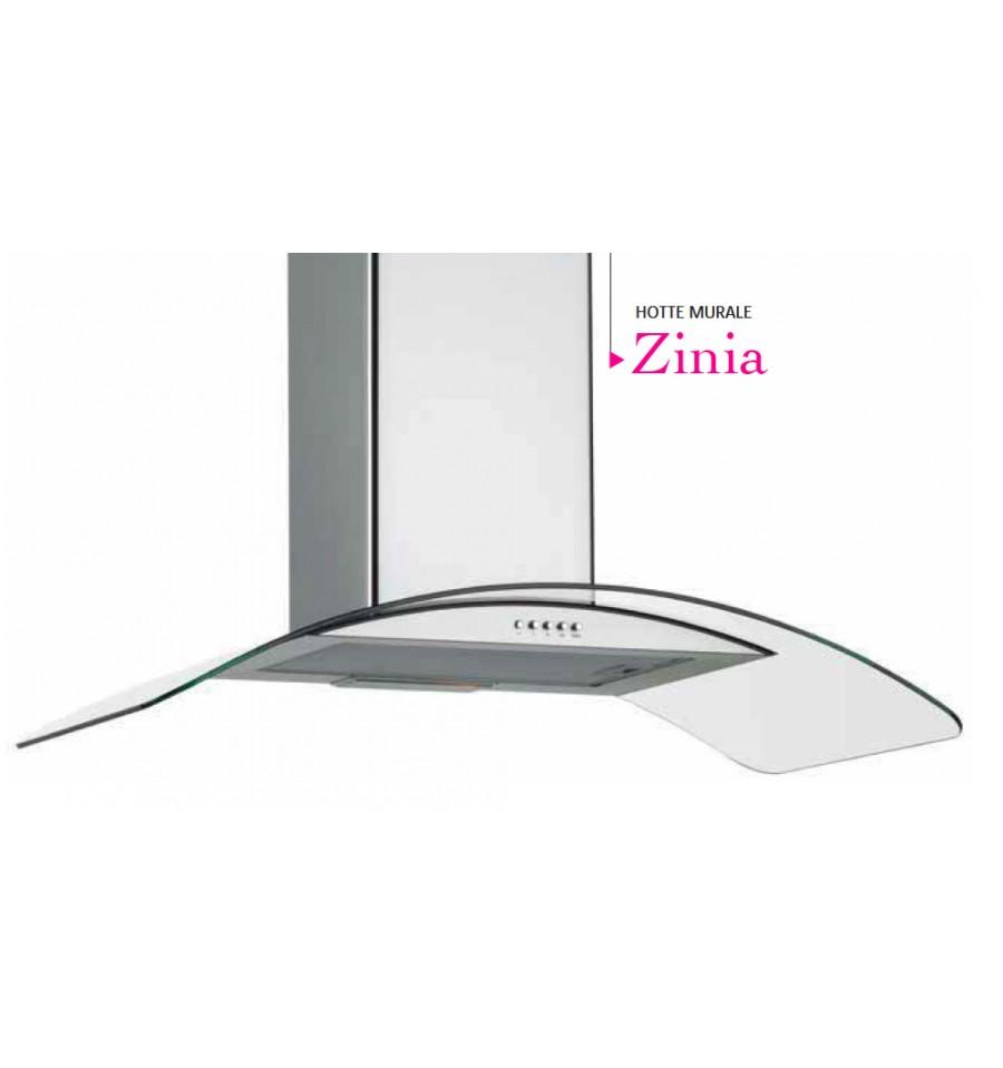 hotte murale silverline zinia 60cm inox et verre tremp h10560015 rvlp. Black Bedroom Furniture Sets. Home Design Ideas