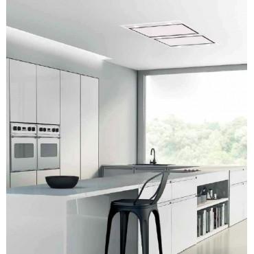 hotte de plafond silverline zafire int 120cm inox. Black Bedroom Furniture Sets. Home Design Ideas
