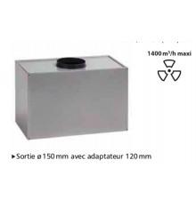 MOTEUR EXTERNE POUR HOTTE DE PLAFOND SILVERLINE ZAFIRE 100 CM INOX  HM1015