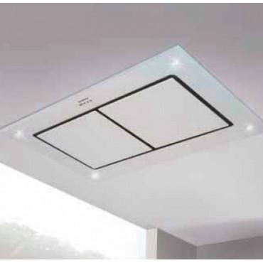 hotte de plafond silverline zora 120cm verre tremp blanc h304120006 rvlp 999. Black Bedroom Furniture Sets. Home Design Ideas