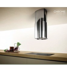 HOTTE ILOT ELICA CHROME 58CM INOX BRILLANT 69315976B