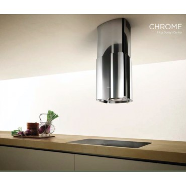 HOTTE ILOT ELICA CHROME 85CM INOX BRILLANT 69315977B