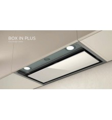 HOTTE ENCASTRABLE ELICA BOX IN PLUS 90CM INOX/VERRE BLANC PRF0097796