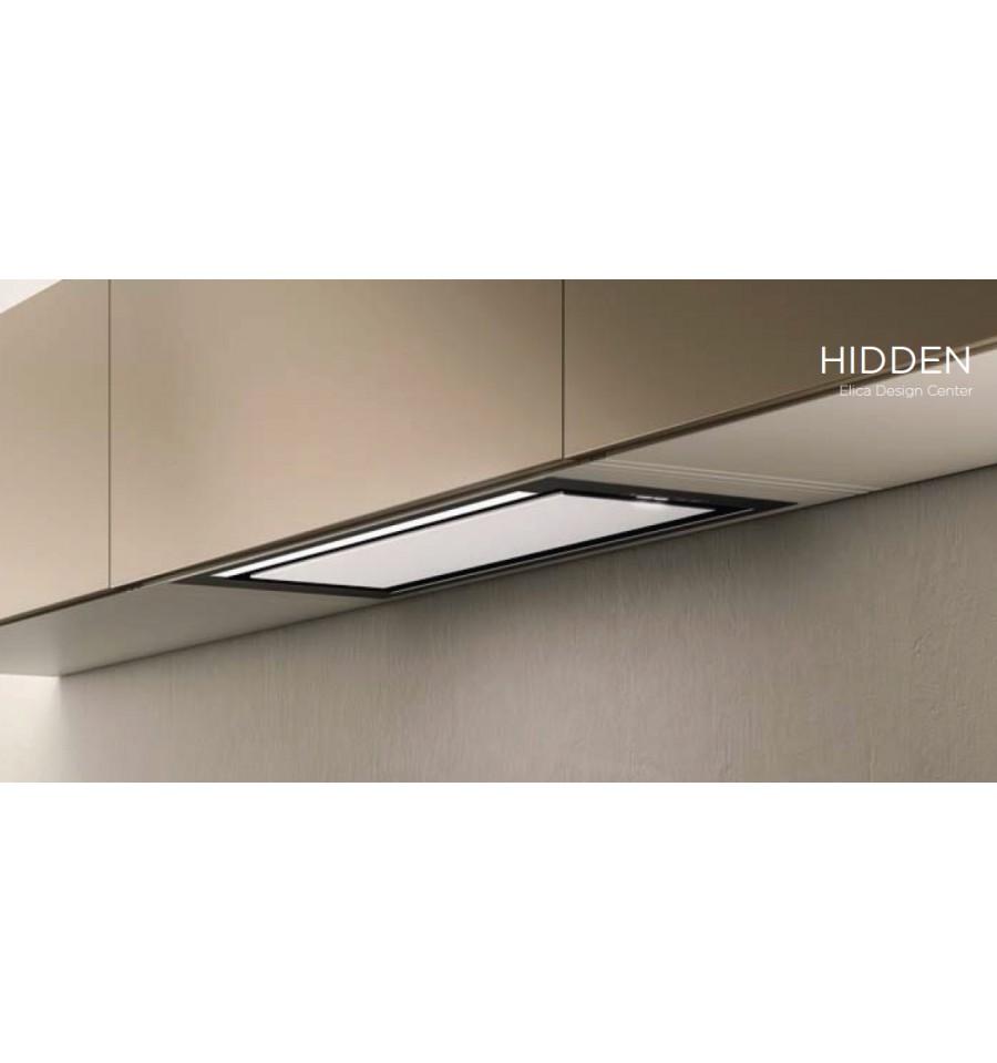 hotte encastrable elica hidden 60cm inox et verre prf0097676 rvlp. Black Bedroom Furniture Sets. Home Design Ideas