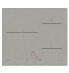 Table de cuisson plaque de cuisson dominos rvlp - Table induction blanche 3 foyers ...