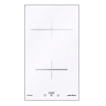 DOMINO INDUCTION 30 CM BLANC AIRLUX ATI322WH