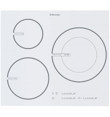 TABLE INDUCTION ELECTROLUX EHD60127IW